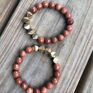 Jewelry - Burnt Orange Bracelets